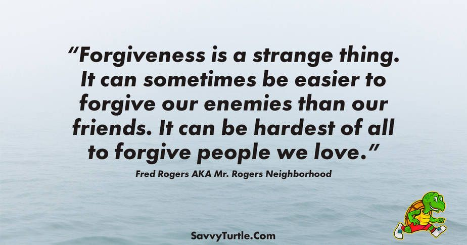 Forgiveness Is A Strange Thing Inspirational Quotes Forgiveness Daily Inspiration Quotes