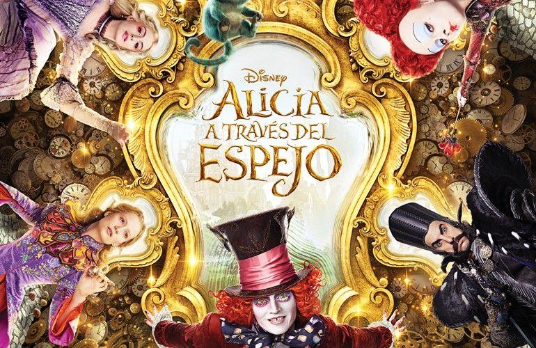 Es Tiempo De Ya De Ver Alicia Volver El Espejo Ha De Pasar Y Aventuras Buscar Al So Alice In Wonderland Palette Through The Looking Glass Disney Alice