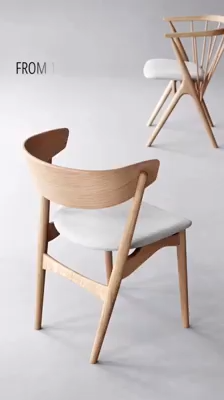 The ageless dining chair designed by Helge Sibast in 1953 has a unique character and a bold design. As an accomplished cabinetmaker as well as furniture architect, Helge Sibast not only designed but personally crafted his original furniture, which often challenged traditional ways of working with wood.