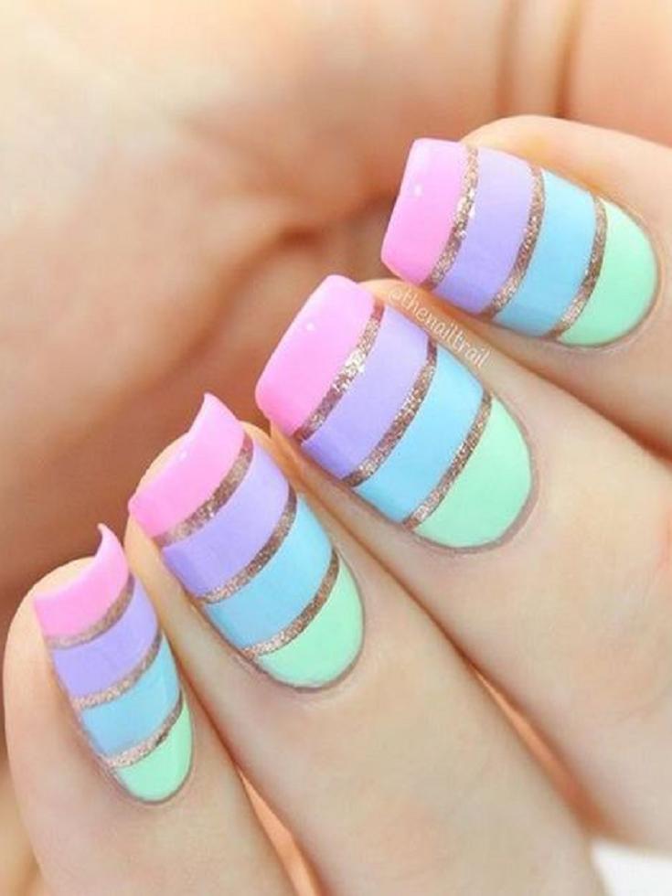 21 Chic Sharpie Nail Art Ideas To Recreate Beauty Nails Community