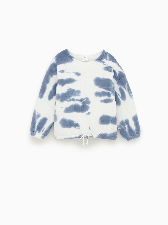 Sudadera Tie Dye Girl Sweatshirts Tie Dye Sweatshirt Kids Outfits [ 1370 x 1024 Pixel ]