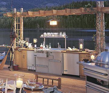 10 Ways To Create A Backyard Getaway Backyard Getaway Outdoor Cooking Spaces Outdoor Rooms