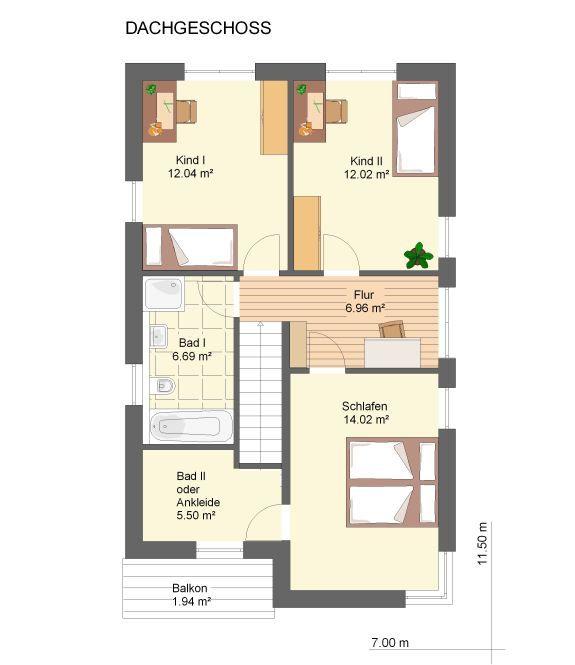 Grundriss einfamilienhaus modern gerade treppe  Neues Wohnen im CUBIG – Designhaus – Minihaus | Kleinaus ...