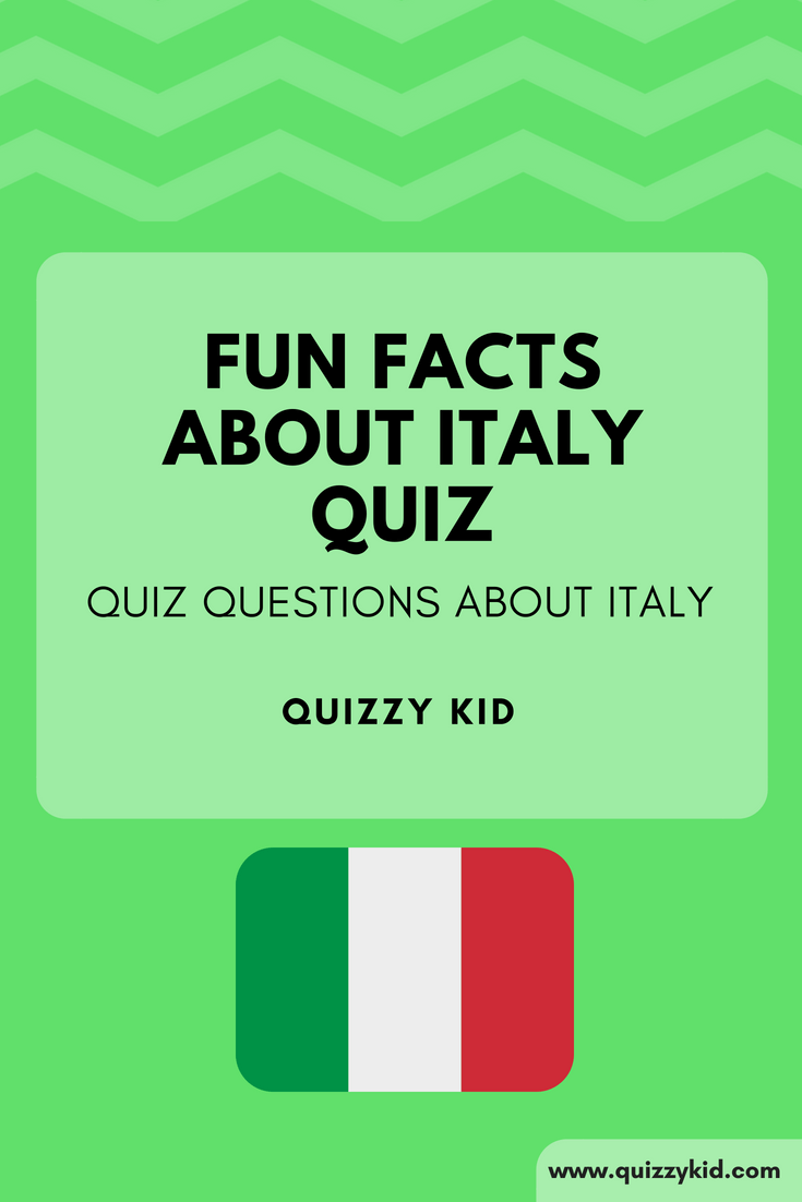 Fun Facts about Italy Quiz | Geography Trivia for Kids | Fun
