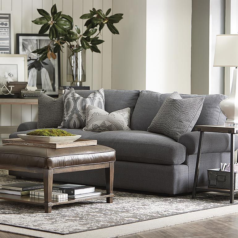 Comfortable Sofas For Family Room Furniture Design Sofa Set Sutton Livingroom Living Casual Comfort Bassett