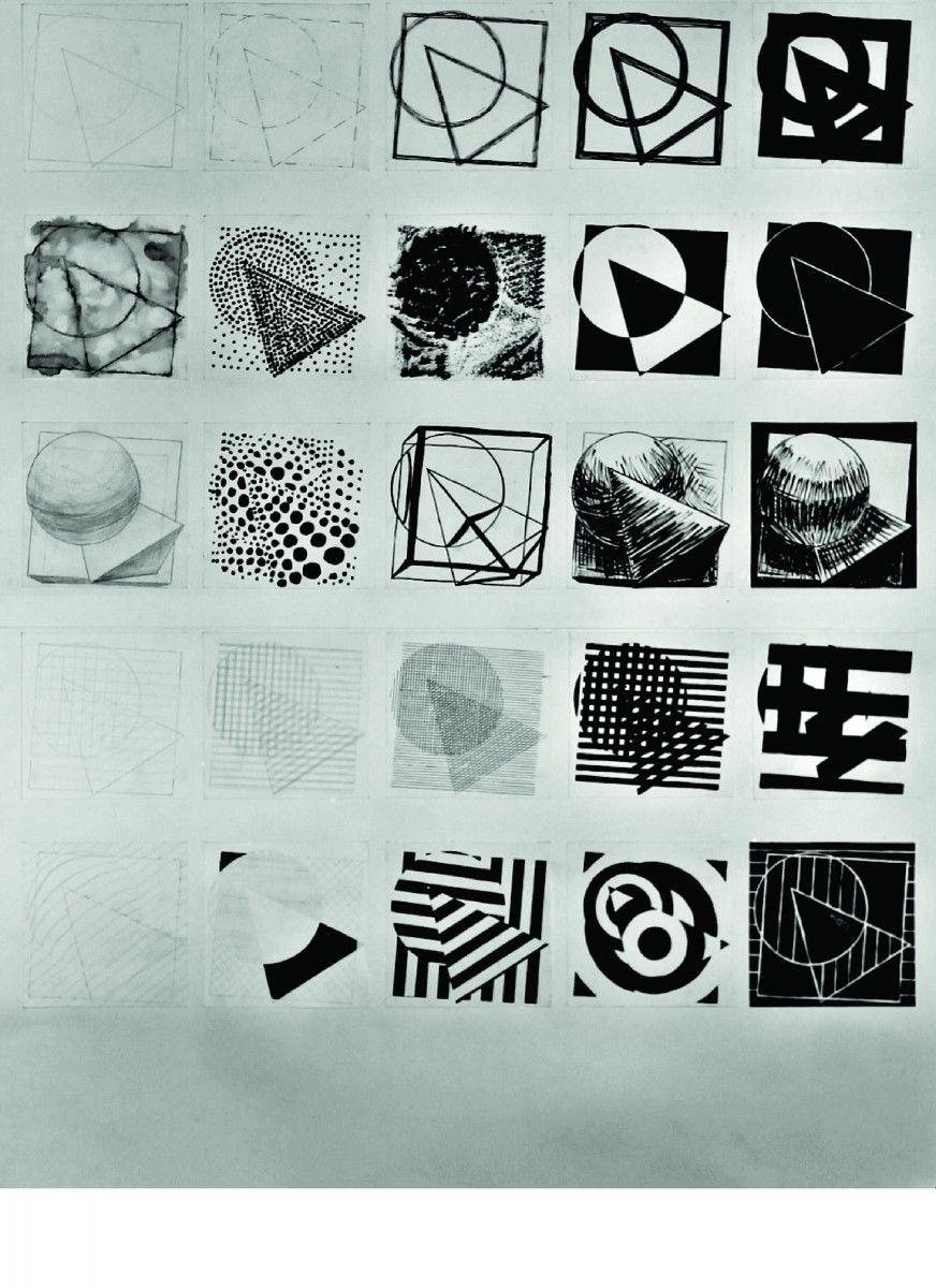 пропедевтика дизайн - Поиск в Google | композиция ... Оп Арт Живопись