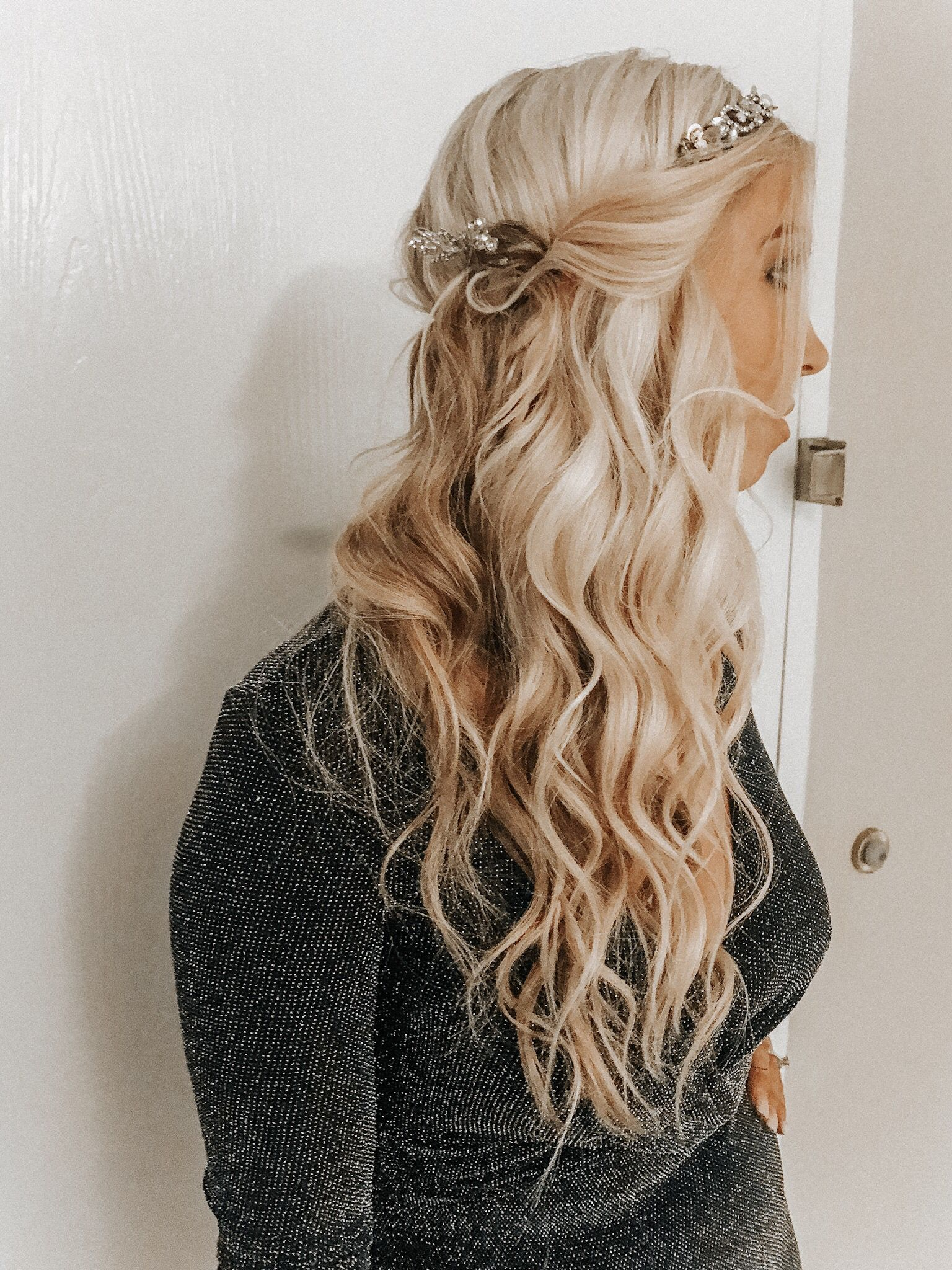 NYE Hairstyle, Easy New Years Eve Party Hair #style #hair ...