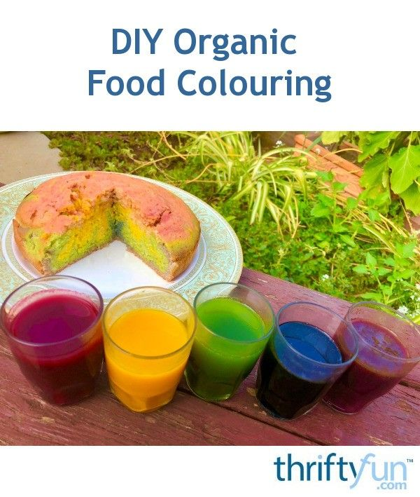 DIY Organic Food Colouring | general knowledge | Food, Red ...