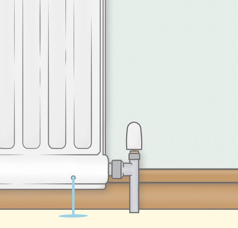 How to fix a leaky radiator home radiators diy home