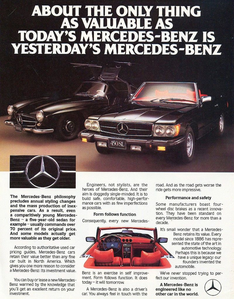 Mercedes Vintage Ads Cerca Con Google Mercedes Benz Autos