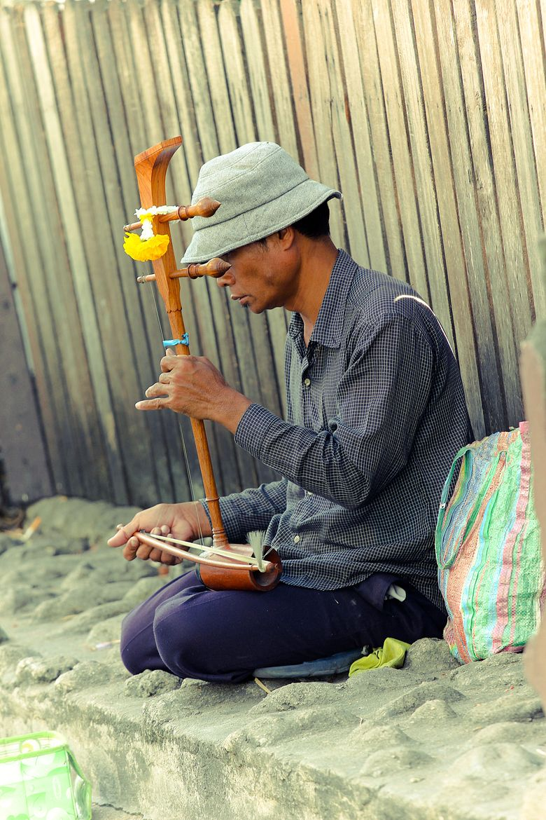 Saw Duang - Thai Instrument | Street music in 2019