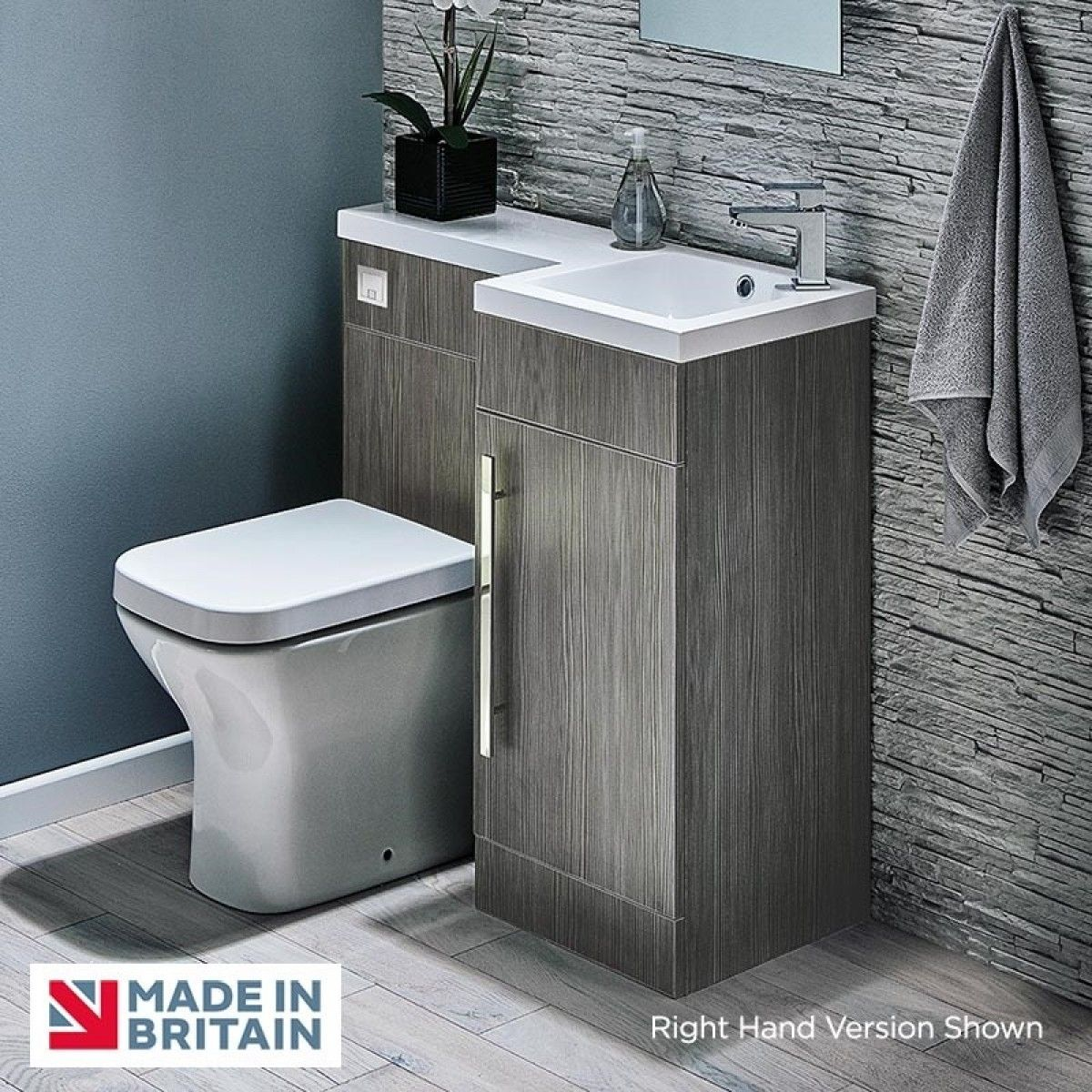 Modern And Compacted Toilet And Sink Unit Polymarble Basin Is Easy To Clean And Highly Practical 18mm S Toilet And Sink Unit Space Saving Toilet Small Bathroom