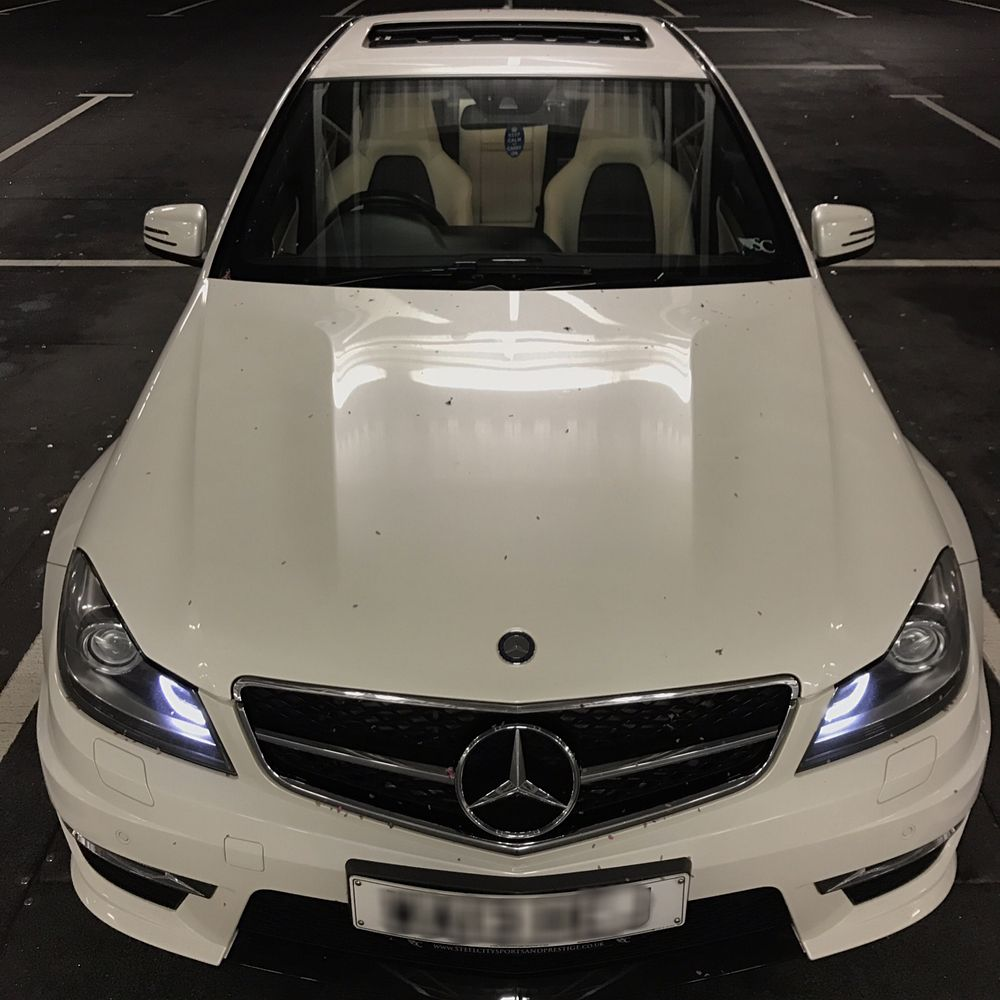 The Boost Prestige C63 Amg In A Stunning Combination Of Polar