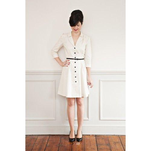 Schnittmuster: Vintage Shirt Dress   Pinterest   Vintage ...