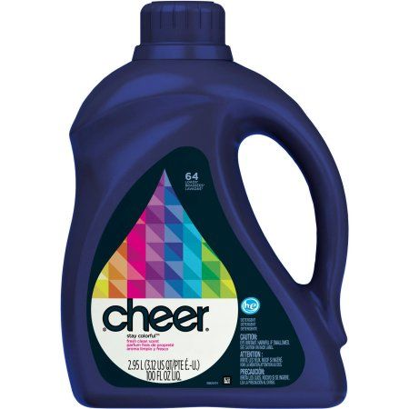 Household Essentials In 2020 Cheer Laundry Detergent Laundry