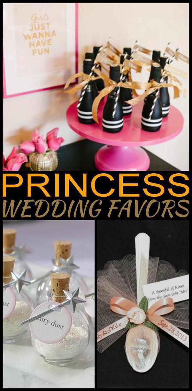 Princess Wedding Favors Wedding Ideas Pinterest Wedding