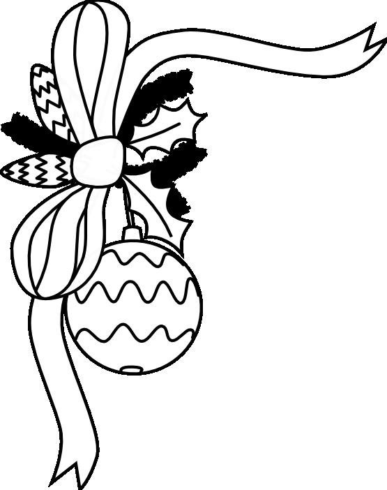 clip art black and white christmas decoration black white xmas rh pinterest com au christmas tree clipart black and white free xmas tree clipart black and white