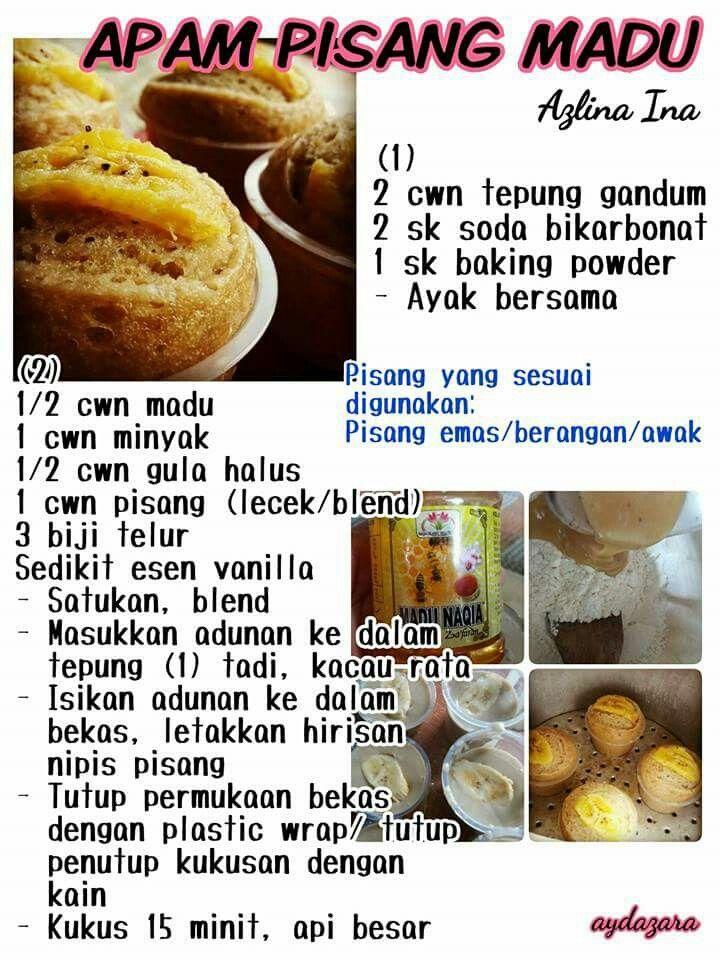 Apam Pisang Madu Recipes Malay Food Food