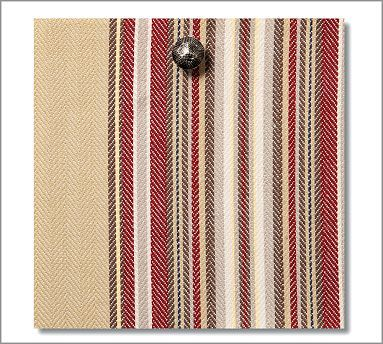Fabric By The Yard Montgomery Stripe Potterybarn