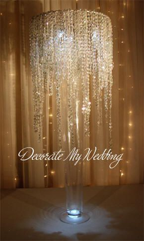 Wedding Decorations Crystal Rain Waterfall Round Wedding