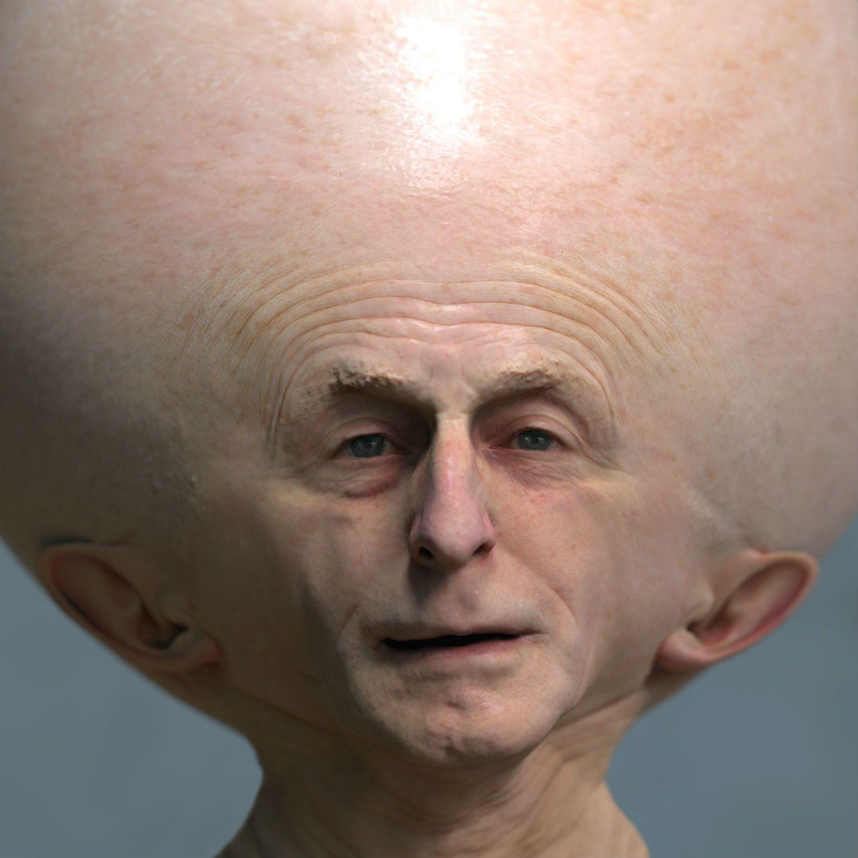 deformed face man - 818×818