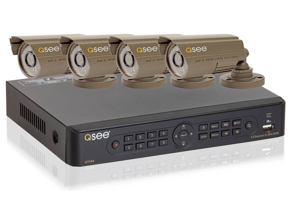 Q-SEE is amongst the top selling American brand of packages. This DVR has a list of features that is second to none. QT 454-436 4 channel H264 Network DVR
