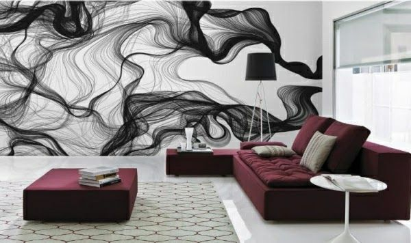Murales para habitaciones juveniles abstractos buscar - Murales en habitaciones ...