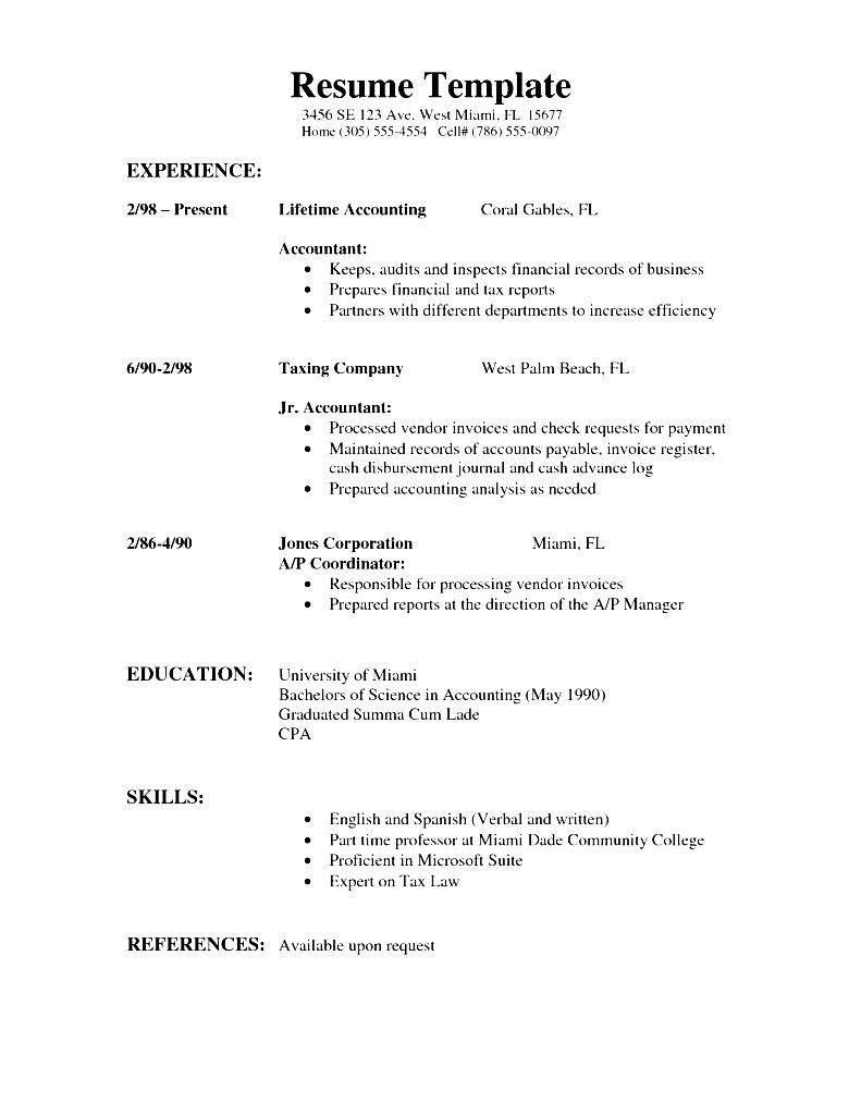 Resume Word Document Resumes And Cover Letters Office Com Modern Format Doc  Template Combinational