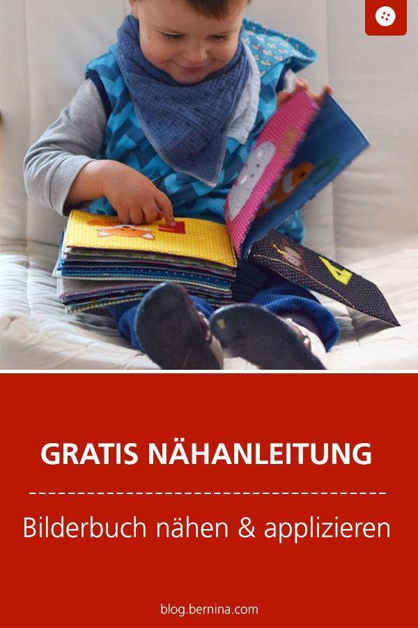 Photo of Kostenlose Nähanleitung: Stoff-Bilderbuch nähen & applizieren