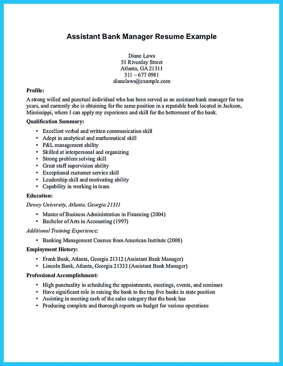 awesome Store Assistant Manager Resume That Can Bag You