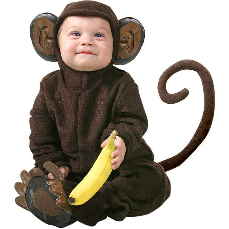 Amazon.com Cute Infant Baby Monkey Halloween Costume 12-18 Months  sc 1 st  Pinterest & Amazon.com: Cute Infant Baby Monkey Halloween Costume 12-18 Months ...