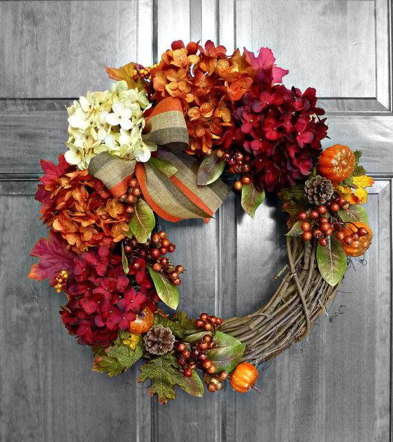 Türkränze Herbst 40 craft ideas for a festive fall herbstdeko türkränze und herbst