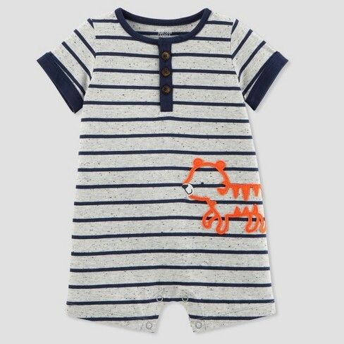 4174a75db46c Baby Boys  1pc Tiger Romper - Just One You™ Made by Carter s® Gray   6.79clearance Reg   7.99 Save  1.20 (15% off) size 18M