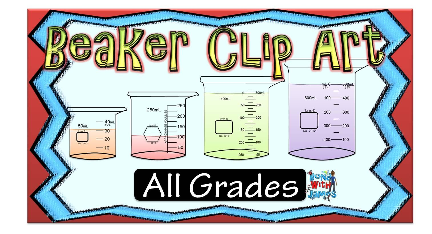 Free Lab Equipment Beaker Clip Art