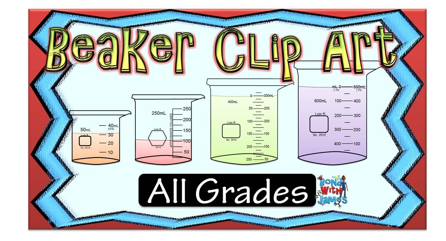 Free Lab Equipment Beaker Clip Art