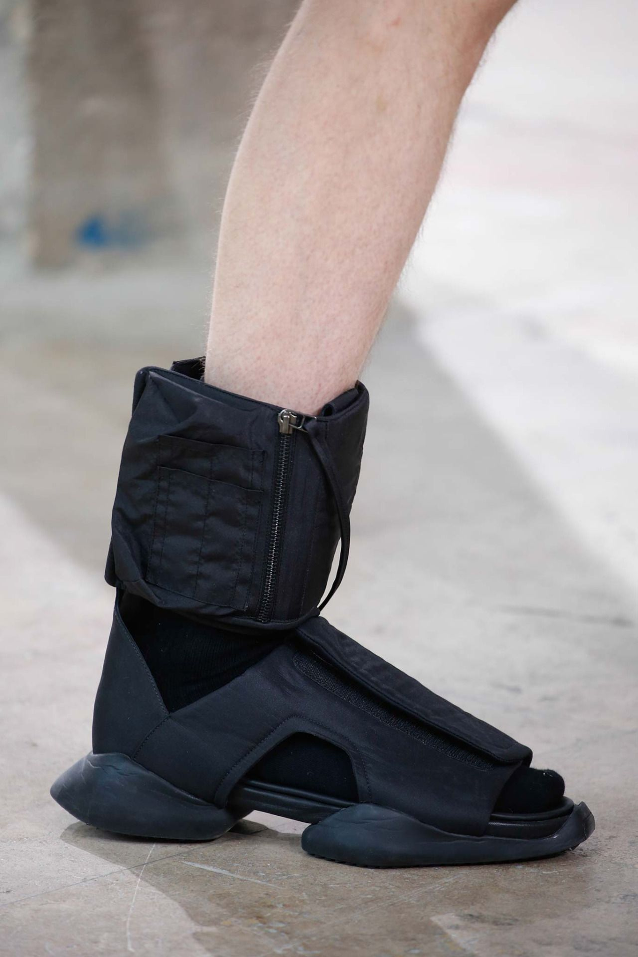 Rick Owens X Adidas Spring 2016 Menswear Adidas Sandals Shoelust