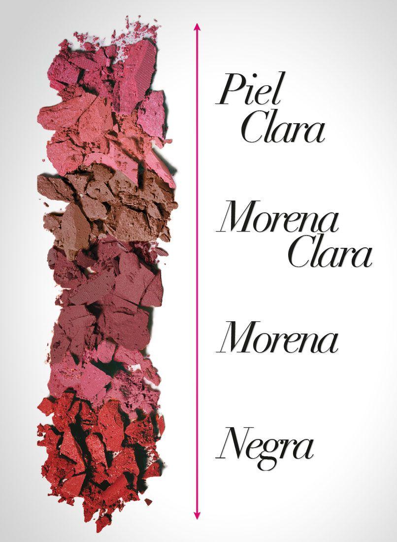 ¡Cada tono de piel tiene su color ideal!