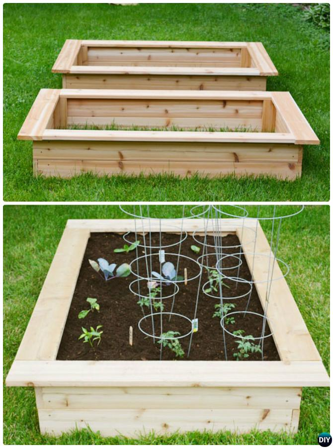 20+ DIY Raised Garden Bed Ideas Instructions [Free Plans] is part of Garden boxes raised, Diy raised garden, Garden boxes diy, Garden boxes, Raised garden beds diy, Garden box plans - More than 20 DIY Raised Garden Bed Ideas Instructions [Free Plans] from Cinder block garden bed to wood garden bed and garden tower!