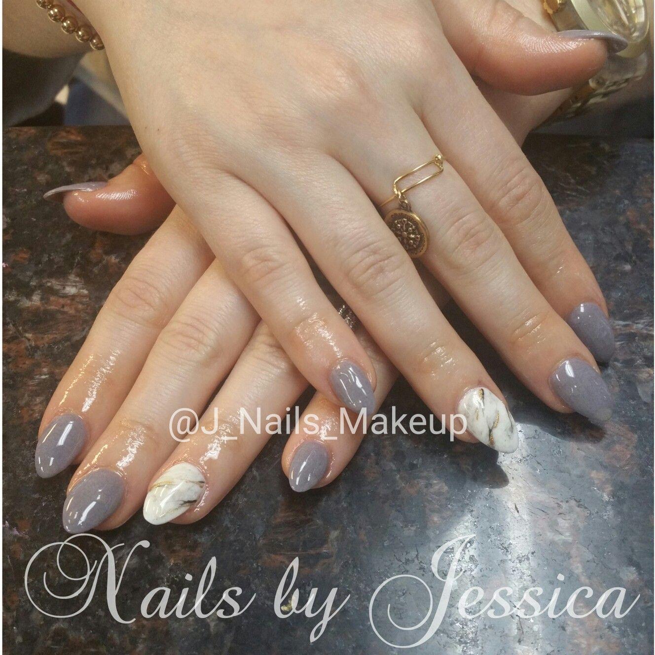 Nexgen Dip Powder Nails With Marble Nail Art Almond Shaped Dip Powder Nails Almond Shape Nails Powder Manicure