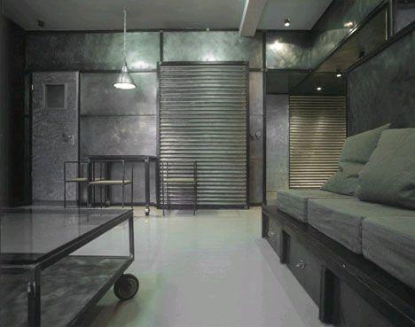 industrial design vs interior design walls
