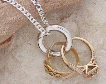 Ring Holder Necklace Etsy Jewlery Ideas Pinterest Uni