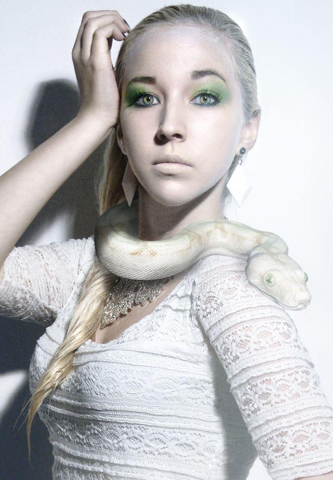 Wilderness Calling - Albino Snake