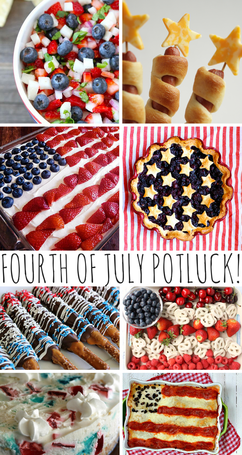 Fourth Of July Potluck Recipes Mom Spark A Trendy Blog For