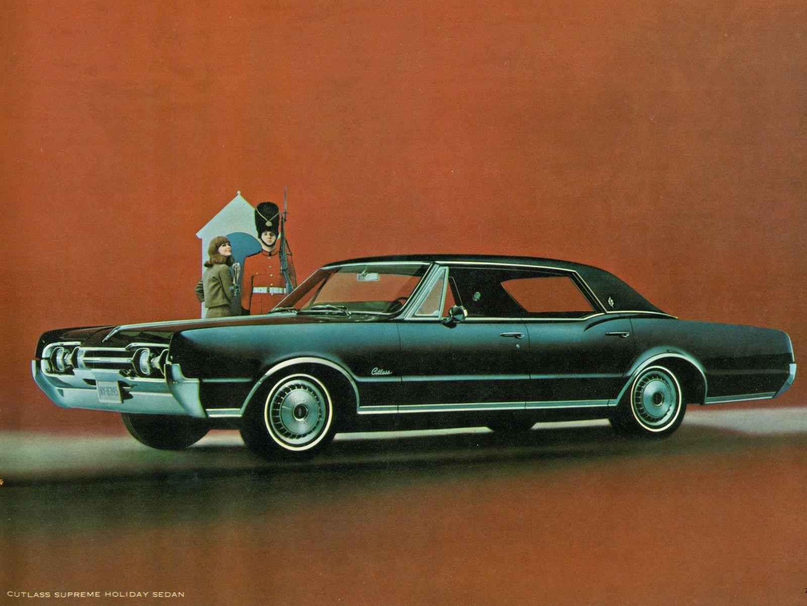 1967 Oldsmobile Cutlass Supreme Holiday Sedan   Oldsmobile cutlass ...