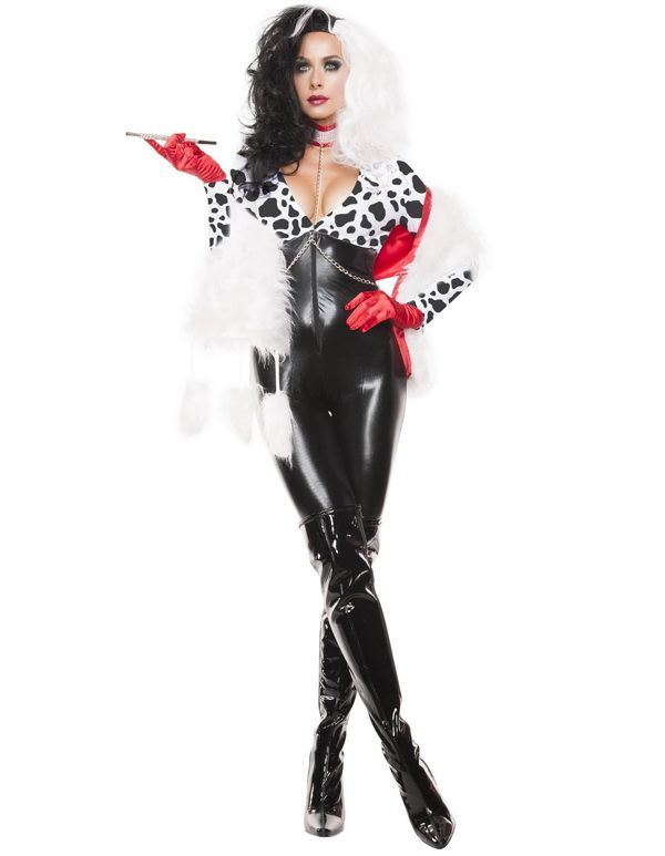 cruella de ville costume 101 dalmatians costume evil costume disney villain costume. Black Bedroom Furniture Sets. Home Design Ideas
