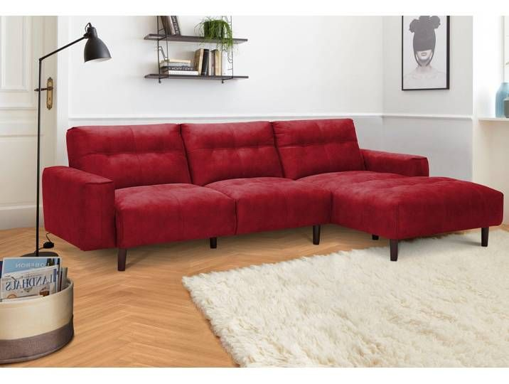 Ecksofa Neckermann Rot Luxus Kunstleder Home Decor Furniture