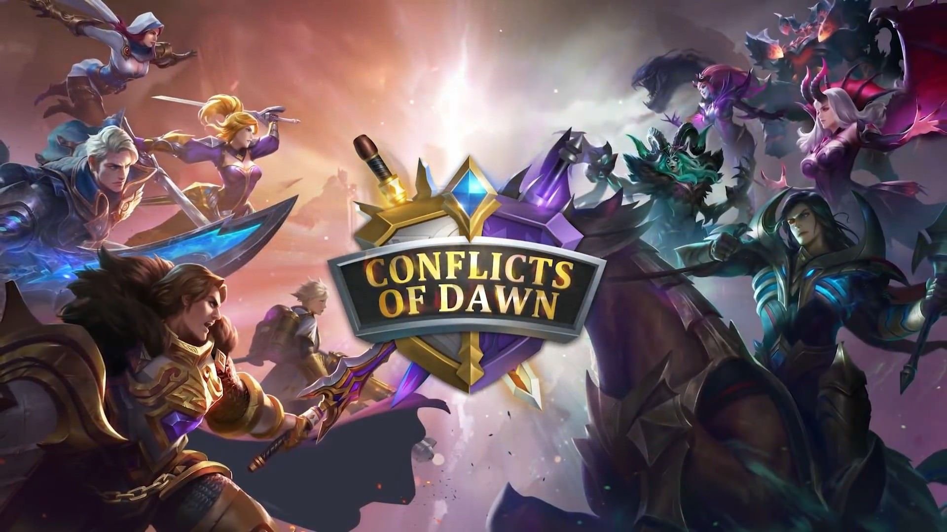 Conflicts of Dawn Event | Gaming | Mobile legends, The legend of