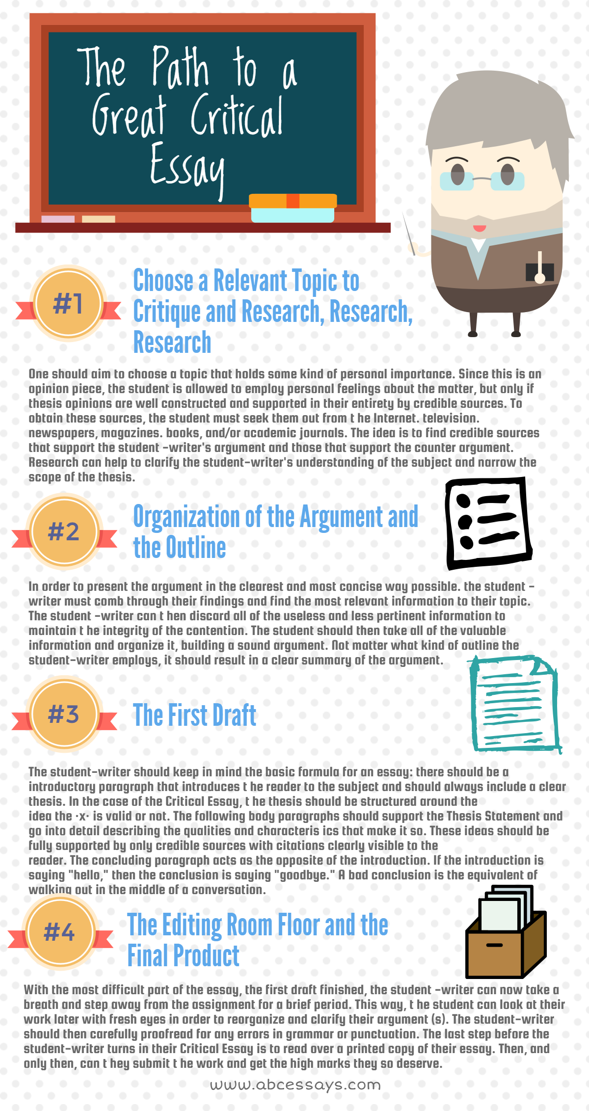 the path to a great critical essay is extremely easy infographics  the path to a great critical essay is extremely easy infographics