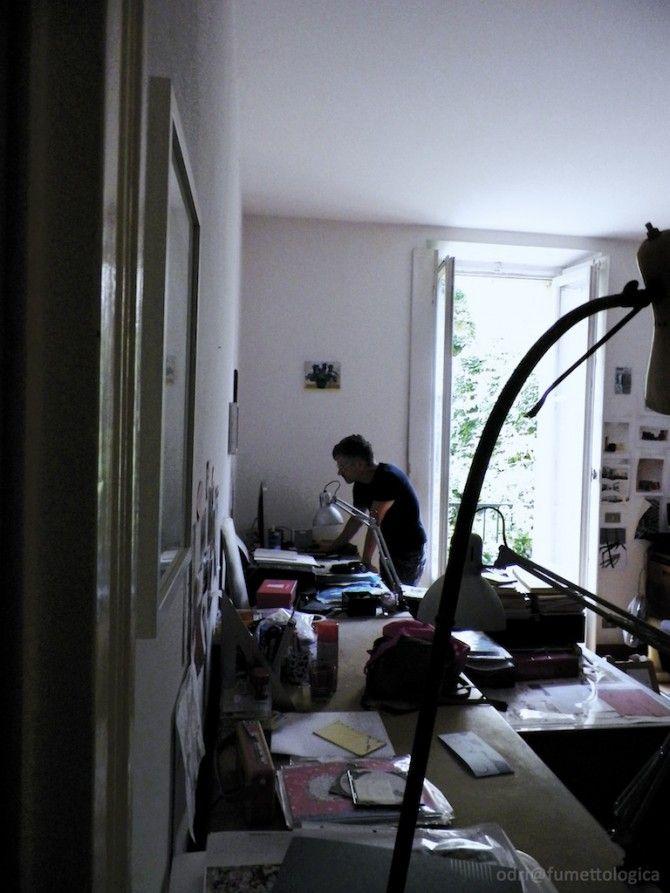Nello studio di Paolo Bacilieri   Fumettologica