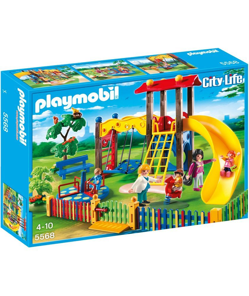 Playmobil Childrens Playground At Argos Co Uk Your Online For Action